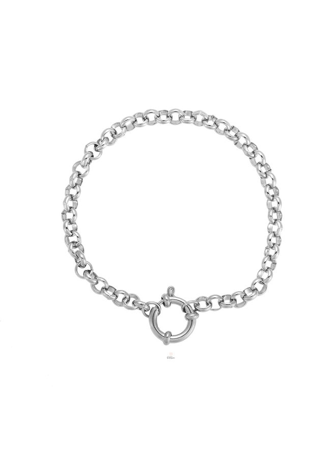 SIMPLE ROUND CHAIN 2.0 SILVER