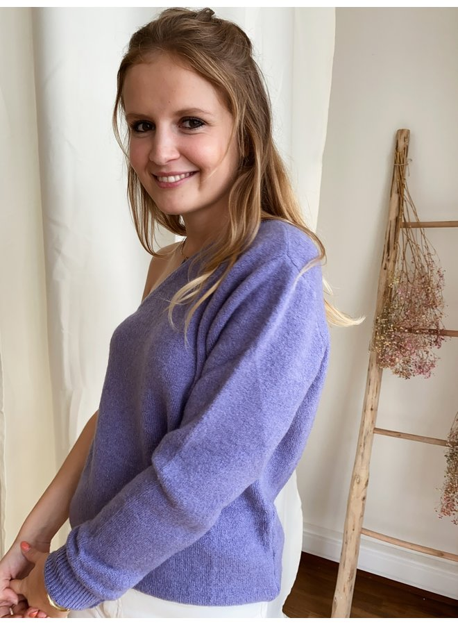 LE TREND - AXELLE JUMPER LILAC