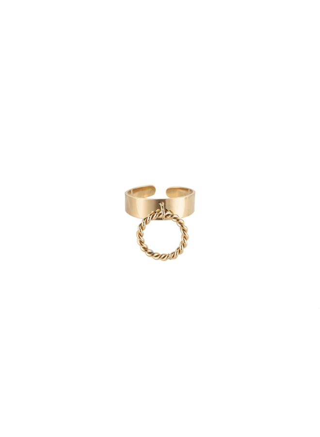 TWIRLING RING STAINLESS STEEL