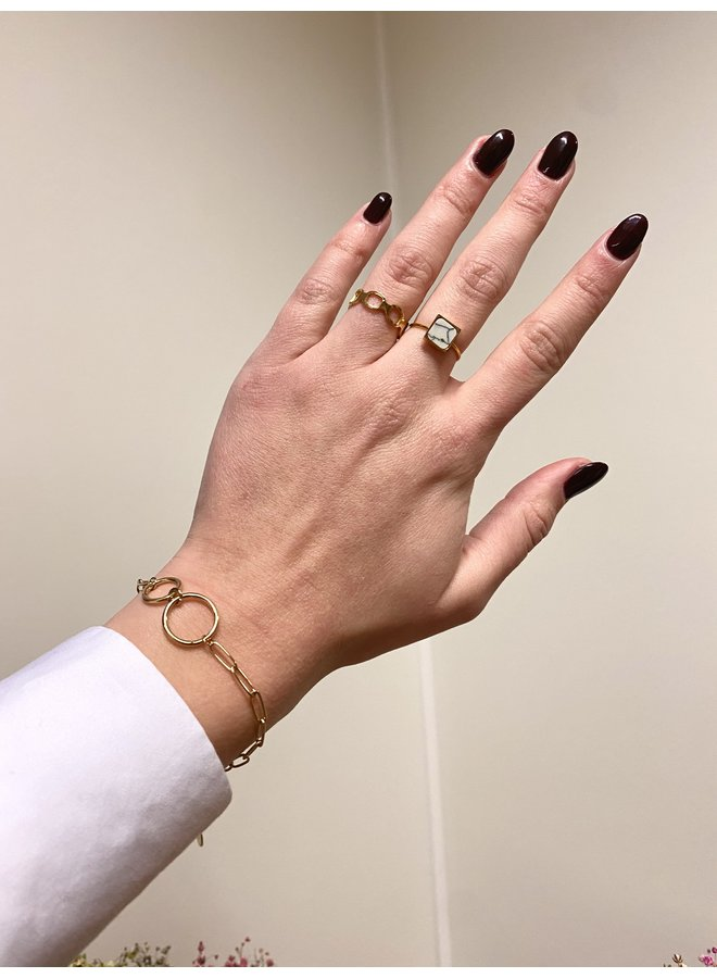 MARIE MARBLE RING