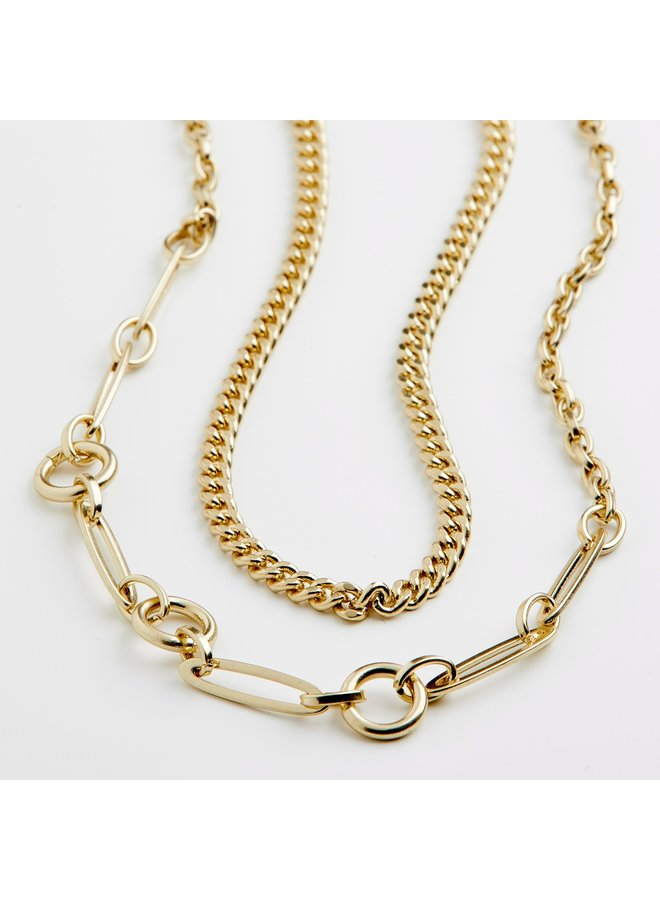 SENSITIVITY NECKLACE GOLD PLATED