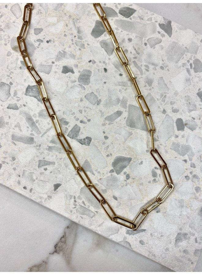 CHAIN NECKLACE GOLD