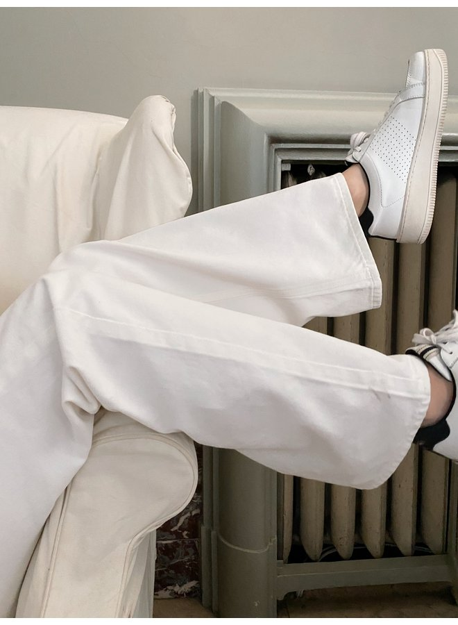 NA-KD - ORGANIC WIDE LEG JEANS