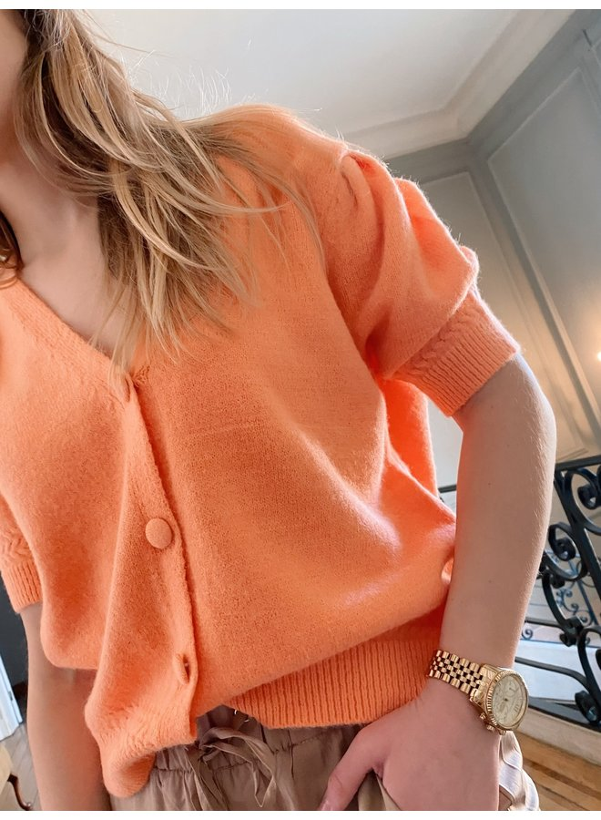 OLIMPIA KNIT - ORANGE