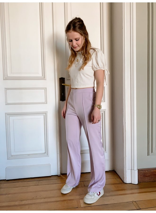 YDENCE - MEGAN TROUSERS LILAC