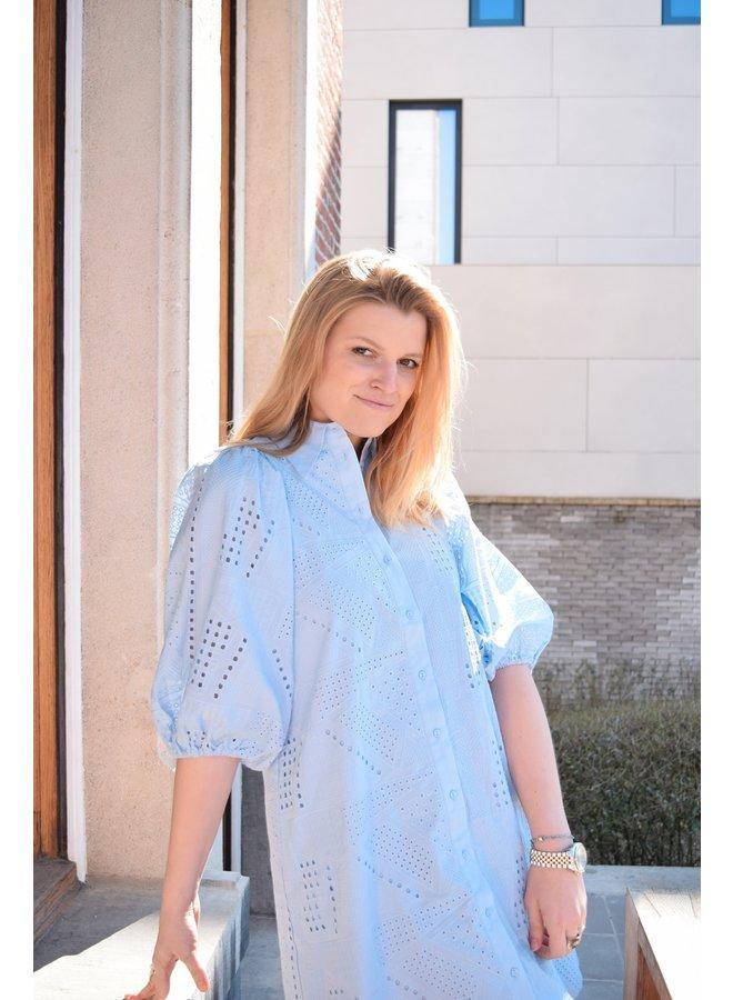 YASSADO DRESS - BLUE