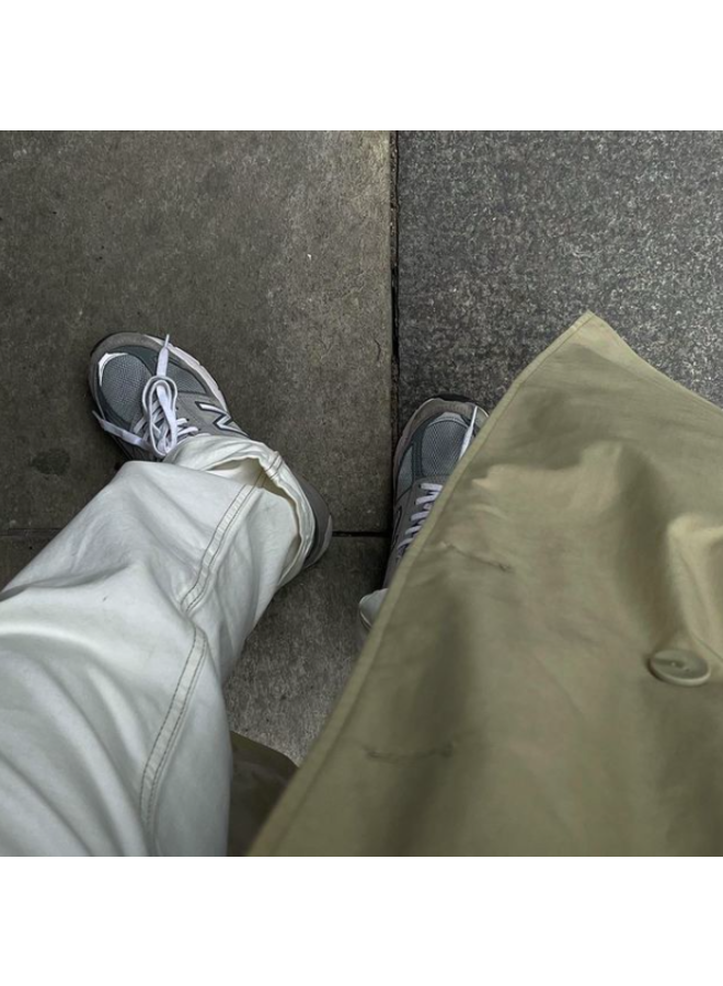 LONG LEG DENIM - OFF WHITE