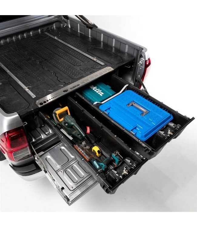 Decked Dubbel Ladesysteem Volkswagen Amarok MK1, MK2 Double Cab (2012-nu)