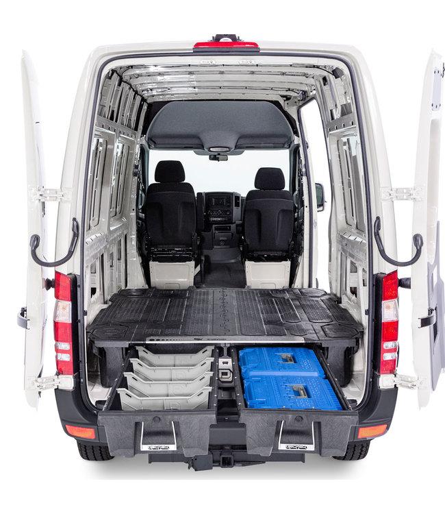 Decked Dubbel Ladesysteem Nissan NV400 (2010-nu) L2 Wielbasis 3711mm L2