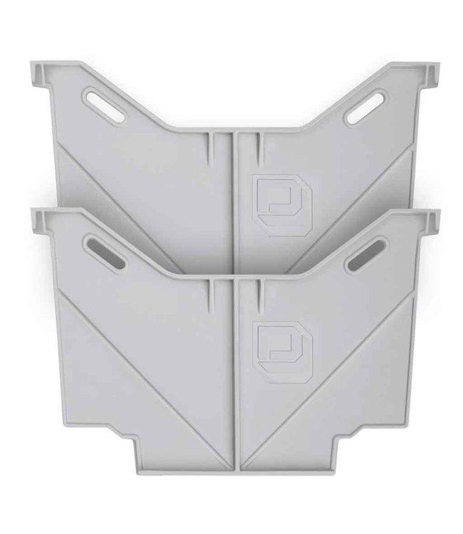 Decked Lade Onderverdeler Smal (set van 2)