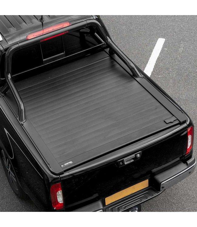 Truckman Ford Ranger MK6,7 Double Cab (2016-2019) Retrax Tonneau Roller Cover met Zwarte Rollbar