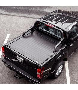 Truckman Isuzu D-MAX (2012-nu) Retrax Tonneau Roller Cover  m/ Zwarte Roll-Bar
