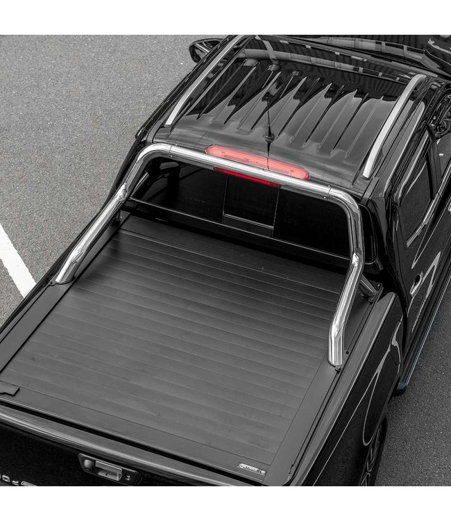 Truckman Isuzu D-MAX Double Cab (2012-nu) Retrax Tonneau Roller Cover met RVS Rollbar