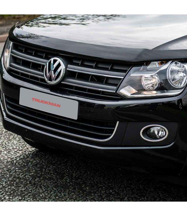 Bonnet Guard Volkswagen Amarok (2012-nu) Dark Smoke