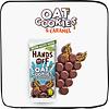 Oat Cookies 70% Dark Chocolate (12 stuks)