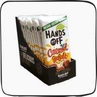Vegan Caramel Seasalt Hazelnut Praline (12 pcs)