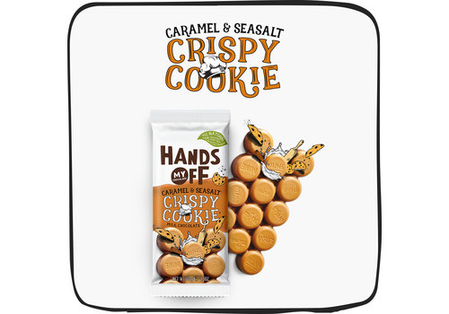 Crispy Cookie Caramel & Seasalt (12 pcs)