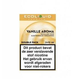 Ecoliquid Premium - Vanille 2x10ml