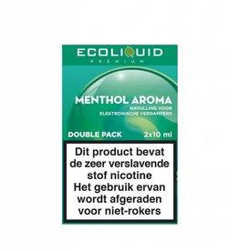 Ecoliquid Premium - Menthol 2x10ml