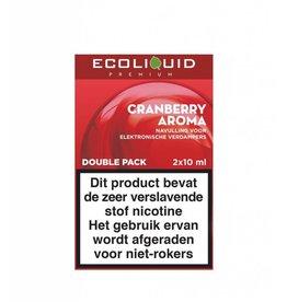 Ecoliquid Premium - Cranberry 2x10ml