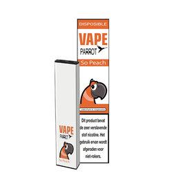 Parrot Vape Disposable -  Peach - 380Puff