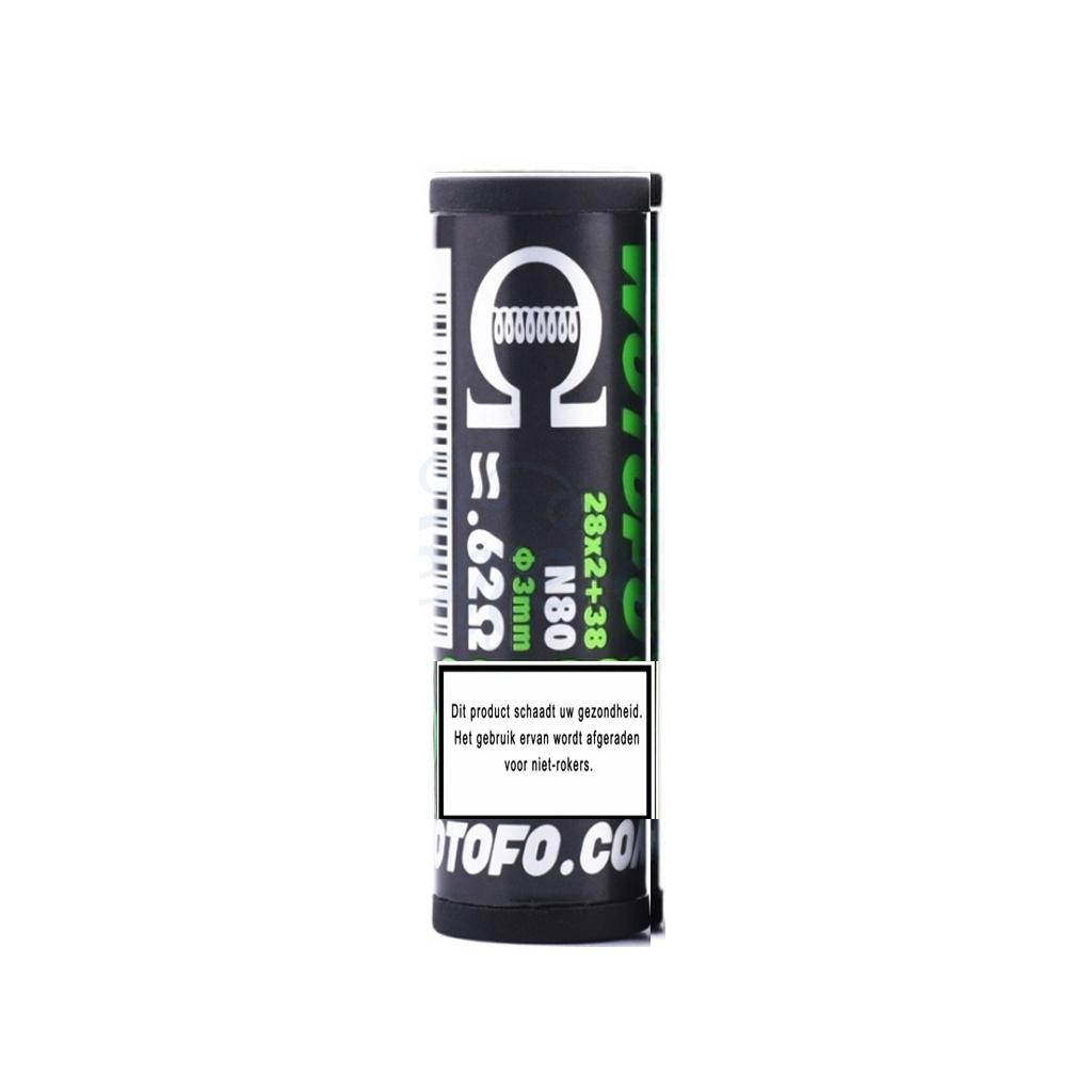 Wotofo Dual Core Fused Clapton Wire 0.62ohm 10pcs / pack