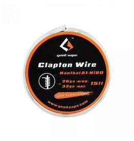 5m GeekVape Clapton Atomizer DIY Kanthal KA1 / Ni80 Tape Wire (26GA Ni80 + 32GA)