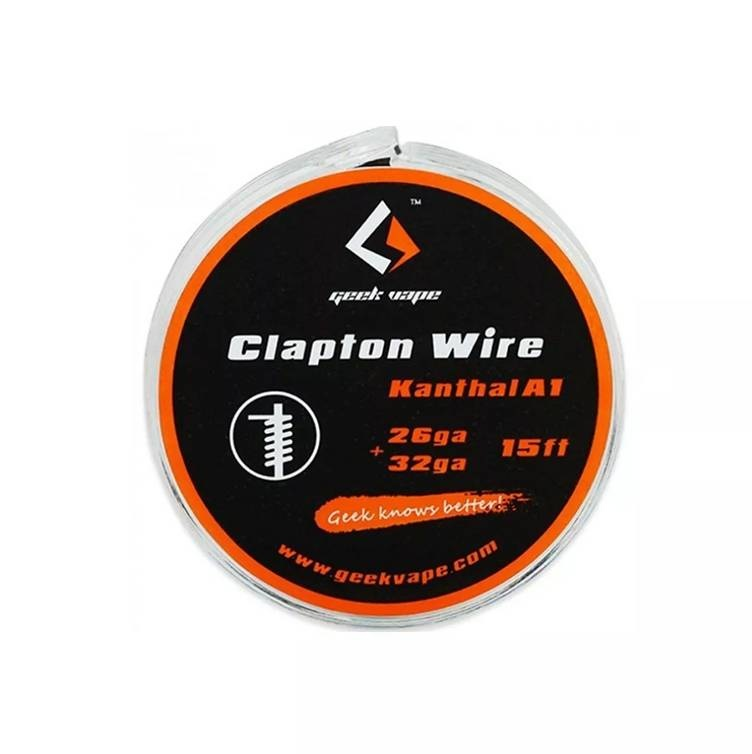 5m GeekVape Clapton Atomizer DIY Kanthal KA1 Tape Wire (26GA + 32GA)
