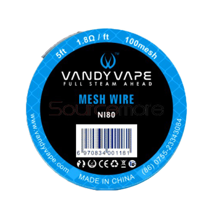 Vandy Vape 100Mesh Wire Nichrome 80 - 5ft
