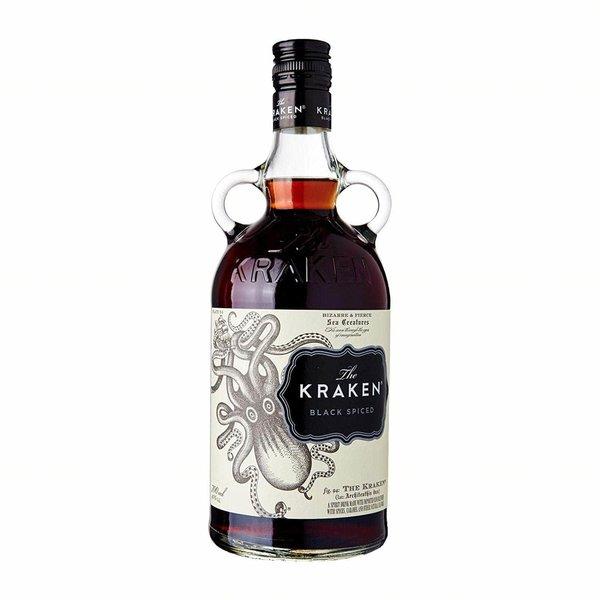 The Kraken Spiced Black Rum 70cl