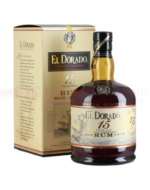 El Dorado 15 Year giftbox