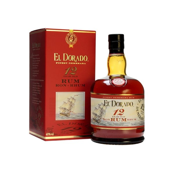 El Dorado 12 Year giftbox