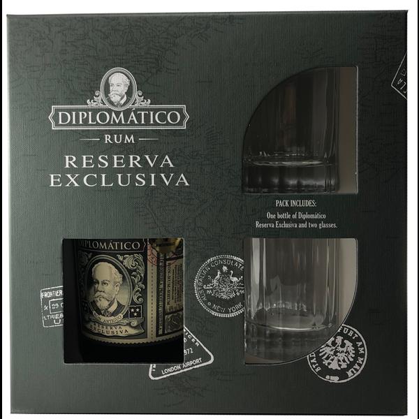 Diplomatico Reserva Exclusiva Gift Pack