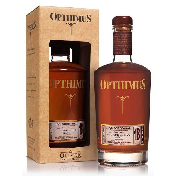 Opthimus 18 Years giftbox