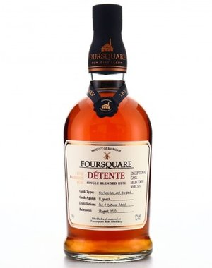 Foursquare Détente  10 years old - 70 cl