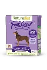 Nature Diet Nature Diet Feel Good Turkey, Chicken And Rice 390g