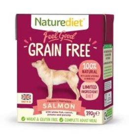 Nature Diet Nature Diet Grain Free Dog Food Salmon 390g