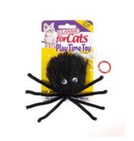 Classic Classic Furry Spider Cat Toy