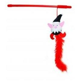 Happy Pet Naughty & Nice Elf Cat Teaser Toy