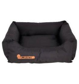 Sharples Teflon Rectangular Dog Bed Black 50cm