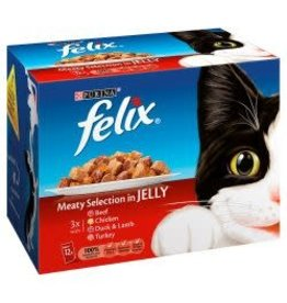 Felix Felix Meat Selection In Jelly 12 Pack