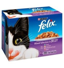Felix Felix Mixed Selection In Jelly 12 Pack