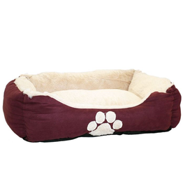 Happy Pet Hugs Square Dog Bed Grape 28""