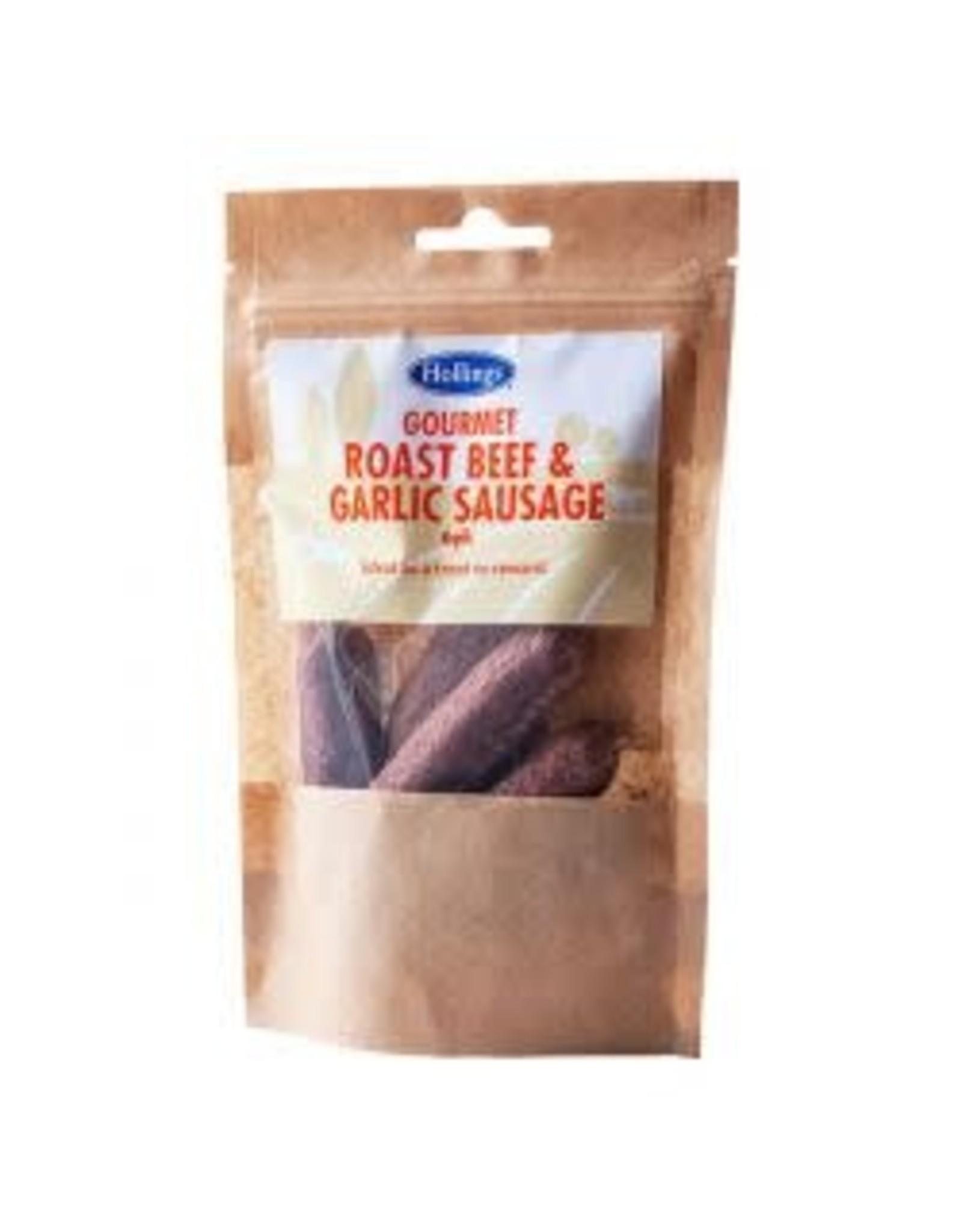 Hollings Hollings Sausage Beef & Garlic 6 Pack