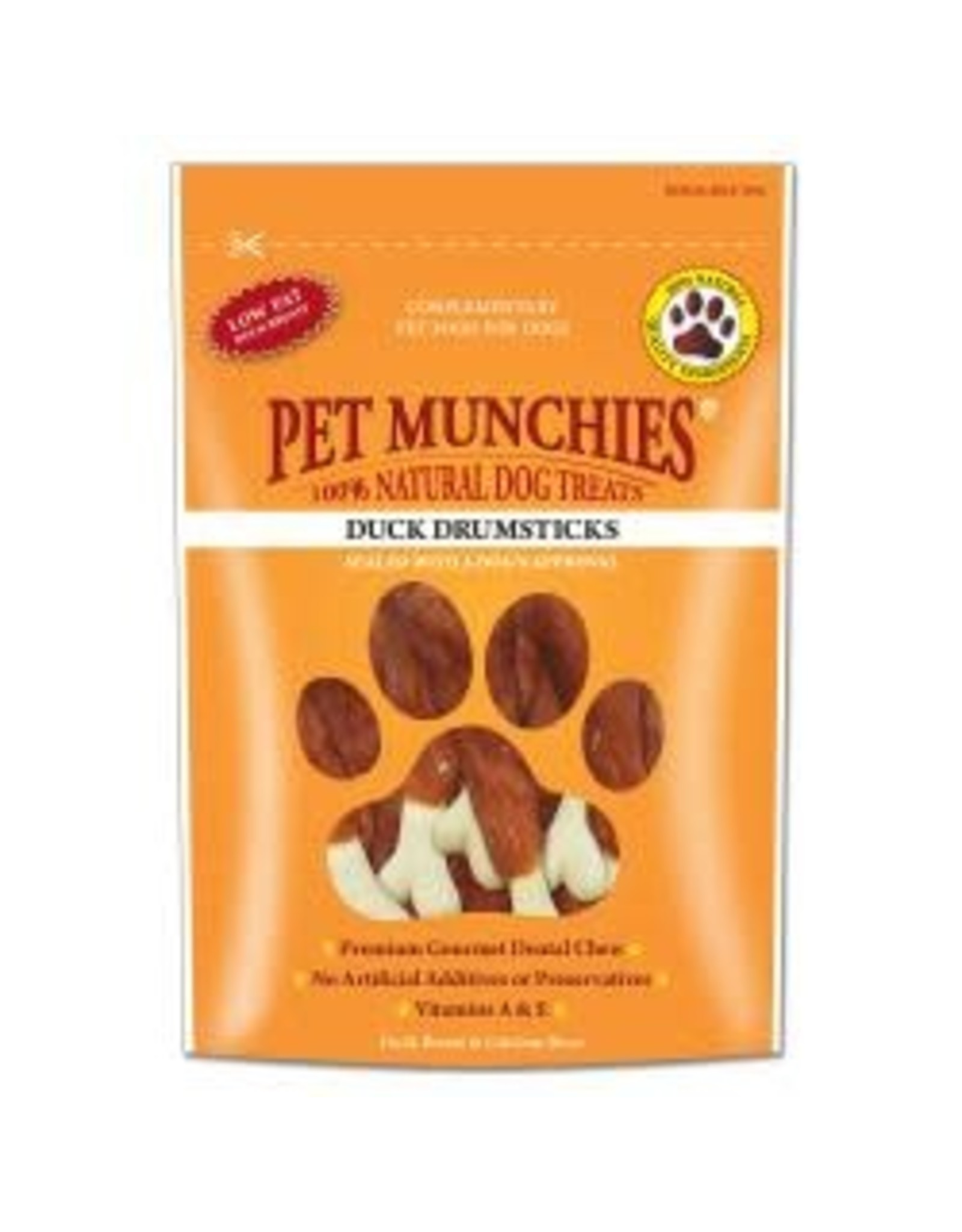 Pet Munchies Pet Munchies Duck Drumsticks 100g