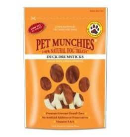 Pet Munchies Pet Munchies Duck Drumsticks 100g
