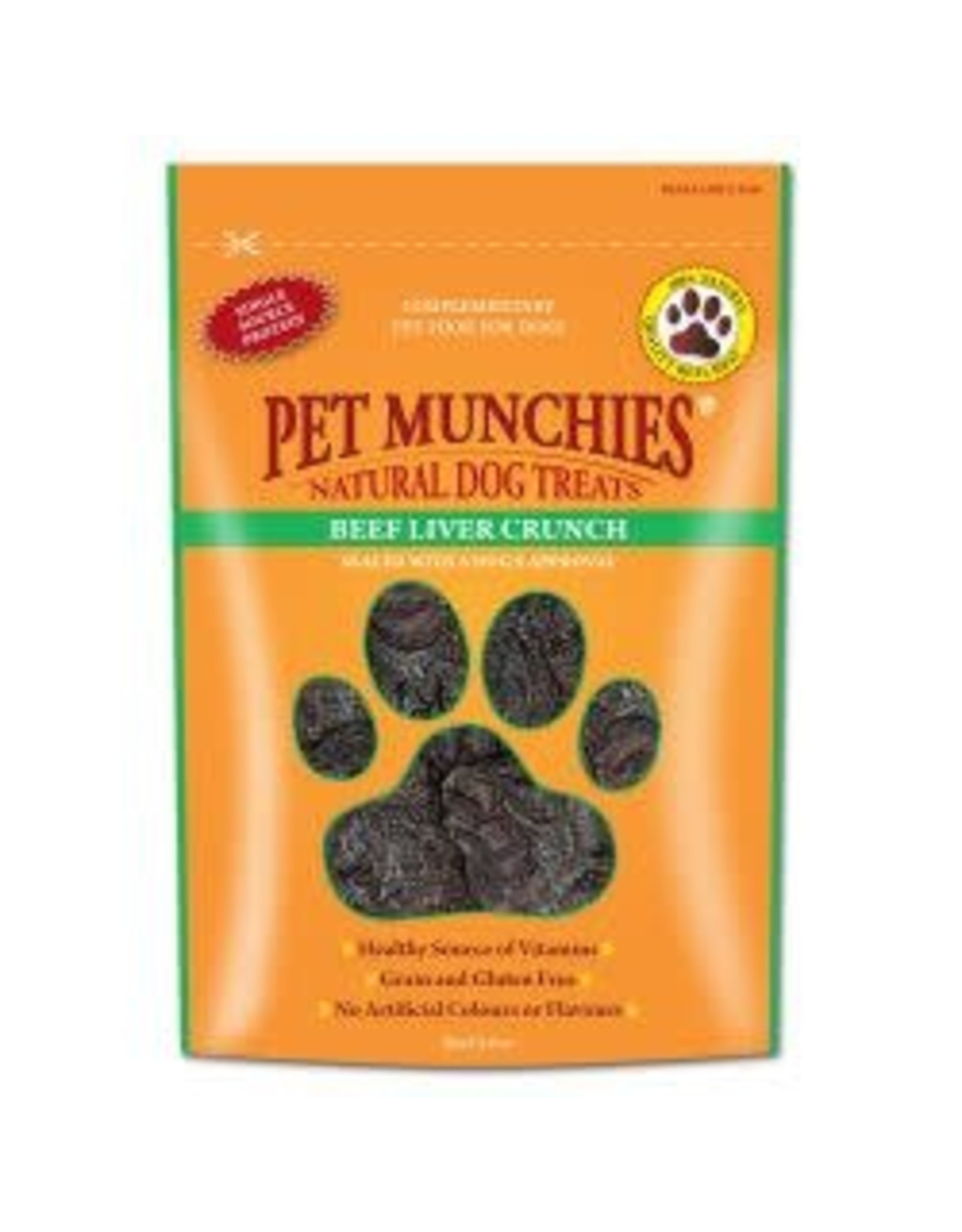 Pet Munchies Pet Munchies Beef Liver Crunch 90g