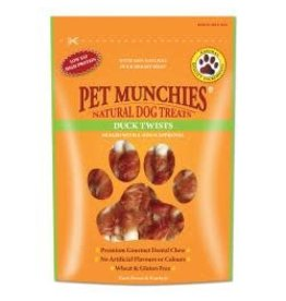 Pet Munchies Pet Munchies Duck Twists 80g