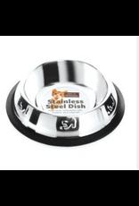 Sharples Embossed Stainless Steel Cat Bowl 15cm
