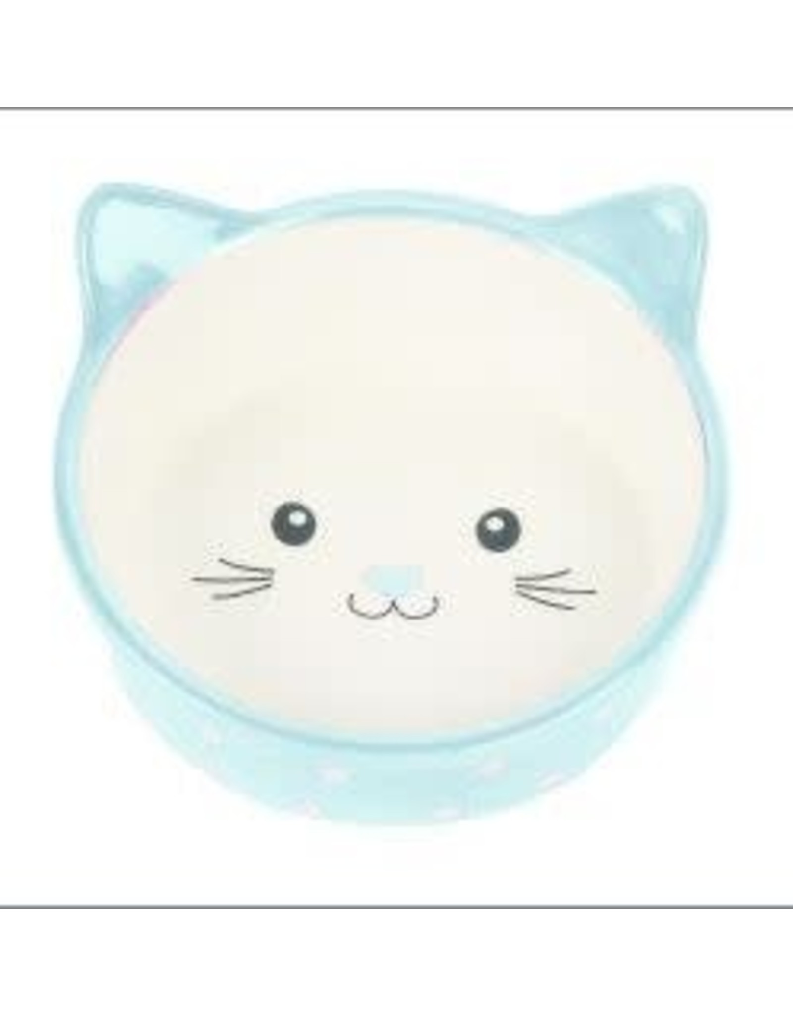 Happy Pet Happy Pet Polka Dot Ceramic Cat Dish